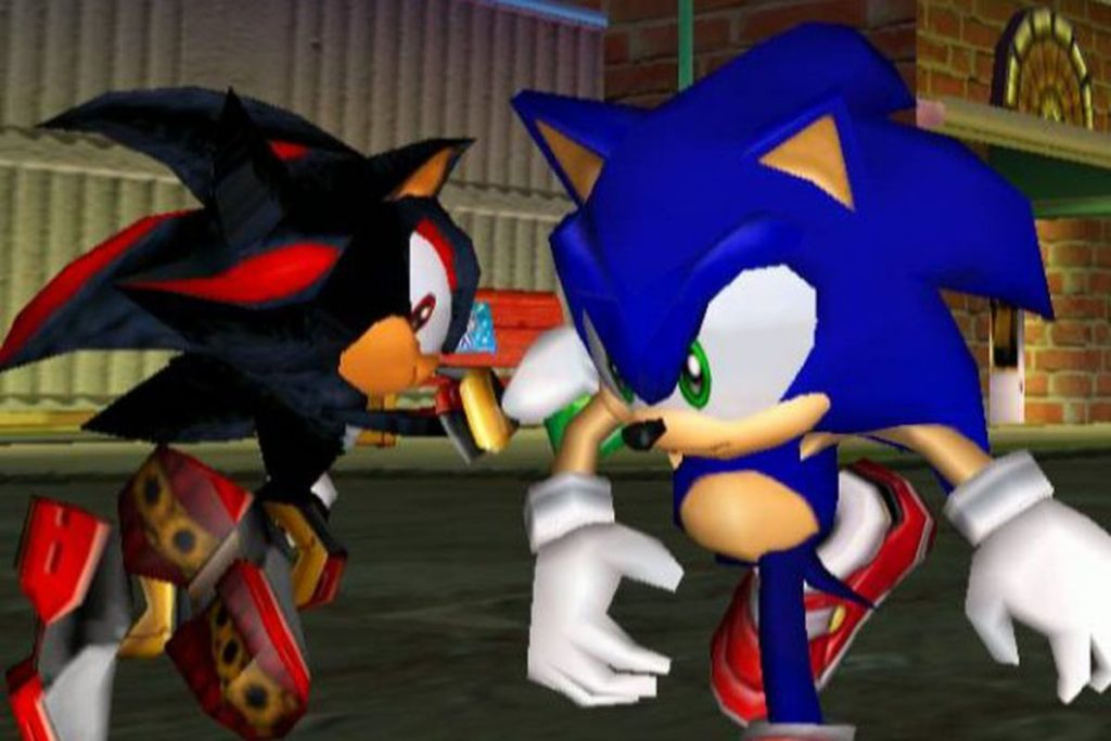 The Gamecube launch lineup included Sonic Adventure 2 Battle