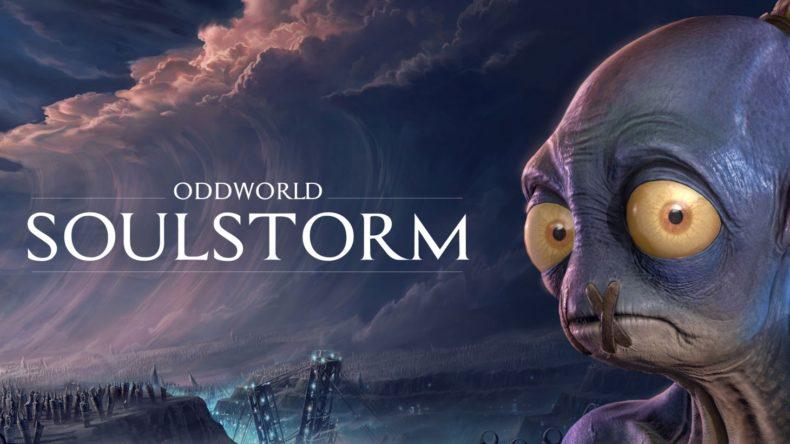 Oddworld Soulstorm title image