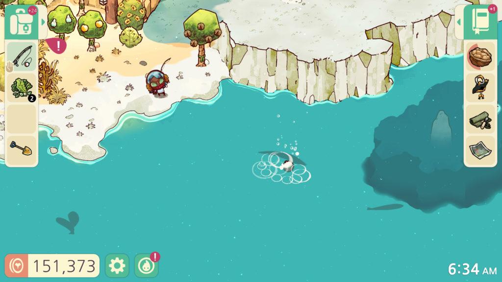 A screenshot of Cozy Grove