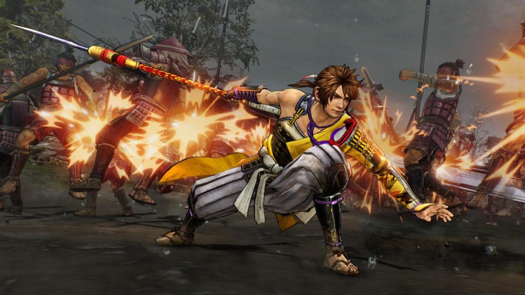 A screenshot of Samurai Warriors 5