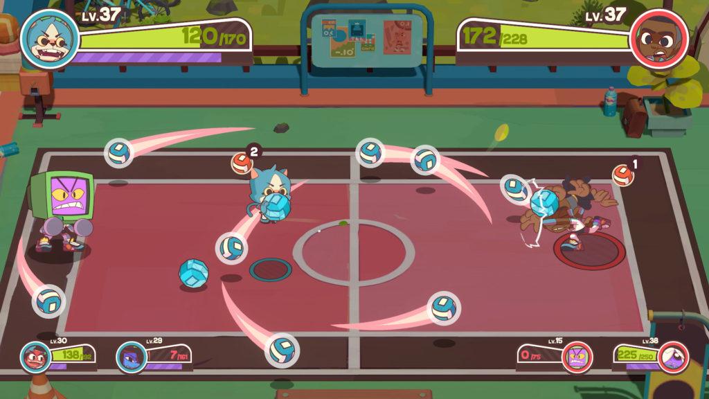 A screenshot of Dodgeball Academia