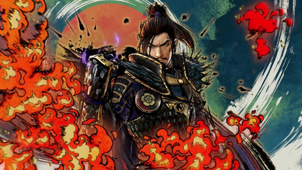 Artwork from Samurai Warriors 5