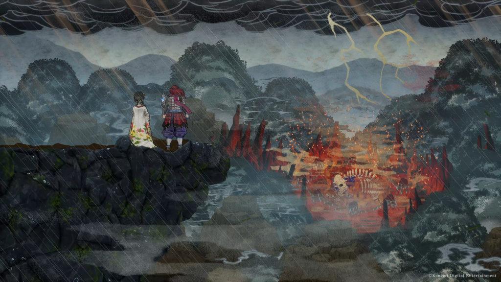A screenshot of GetsuFumaDen: Undying Moon
