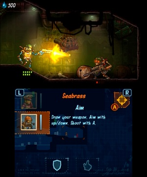 SteamWorld Heist review on 3DS