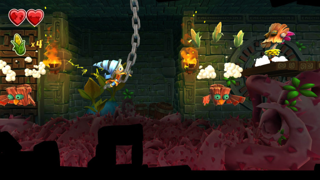 A screenshot of Stitchy in Tooki Trouble