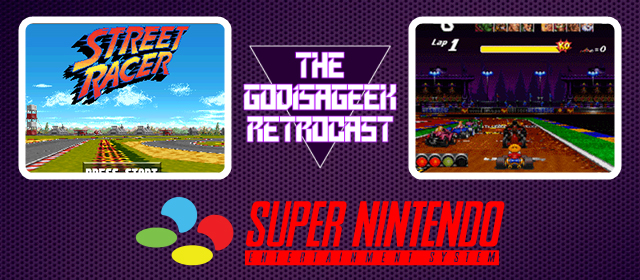 The Retrocast #20 – Street Racer (SNES)