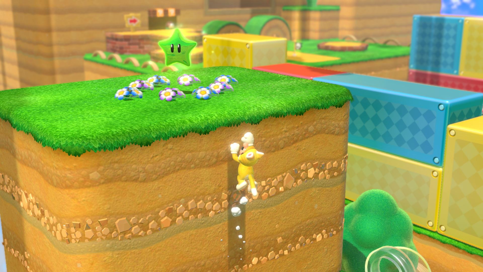 A screenshot from Super Mario 3D World + Bowser's Fury