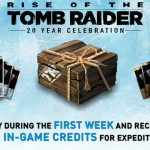 Rise of the Tomb Raider: 20 Year Celebration lets you get 100000 in game credits at launch