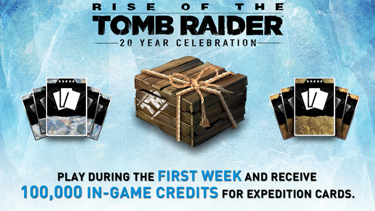 Bonus Credits for Playing Rise of the Tomb Raider Next Week