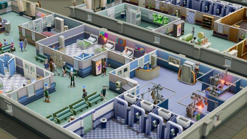 two point hospital console
