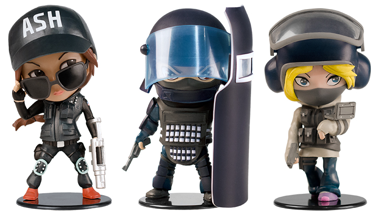 ubisoft chibi  Ubisoft just announced five Chibi figures from the Rainbow 6 franchise