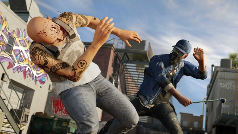 watch dogs 2 knock out