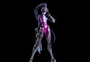 widowmaker statue