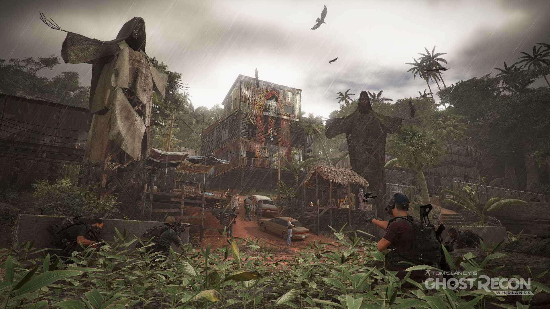 wildlands raining