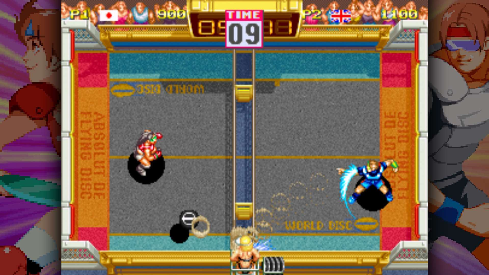 windjammers-p[s4-screenshot