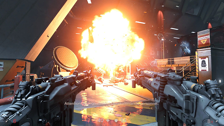 Watch A New Gameplay Trailer For Wolfenstein Ii The New