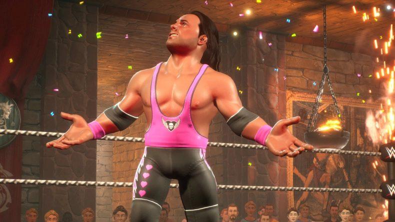 WWE 2K Battlegrounds Bret Hart