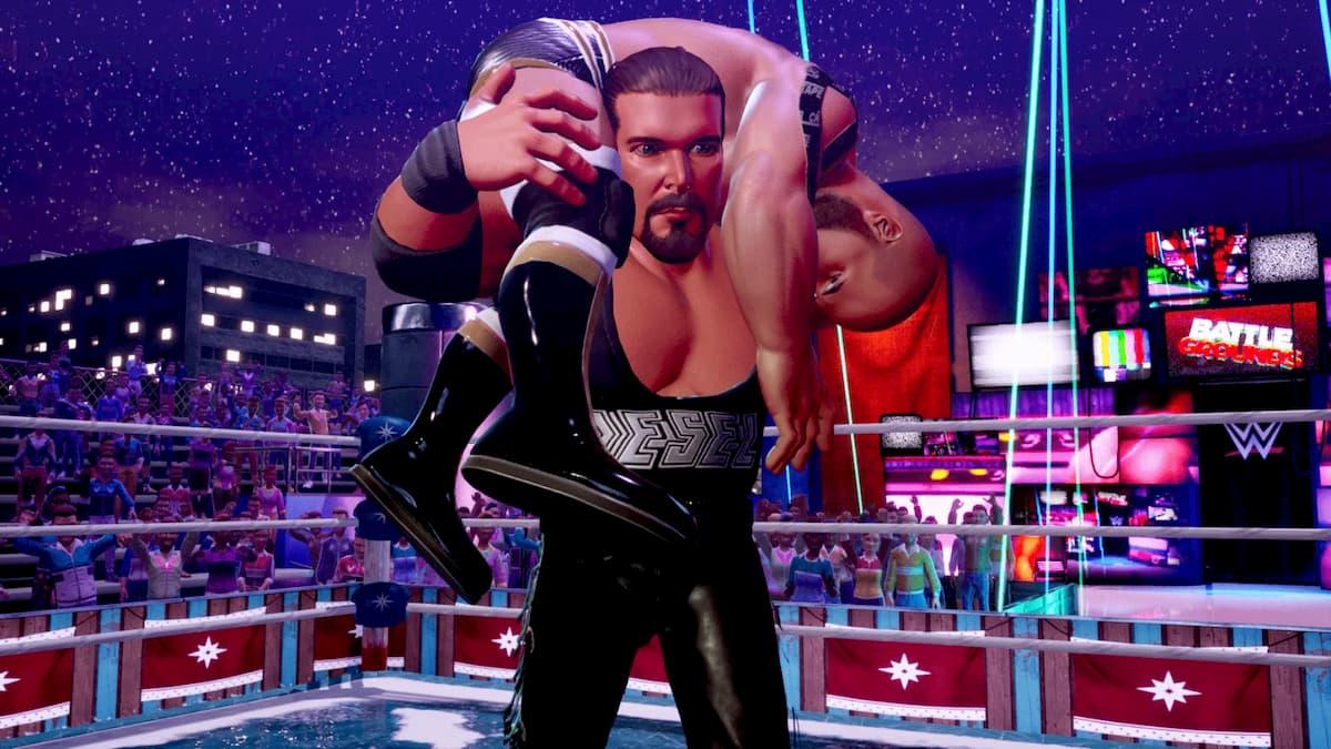 WWE 2K Battlegrounds Diesel