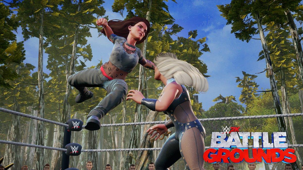 WWE 2K Battlegrounds Lita and Trish Stratus
