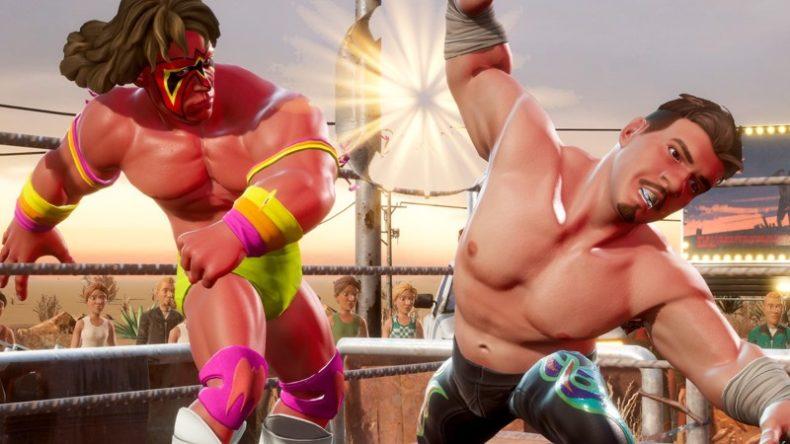 WWE 2K Battlegrounds Ultimate Warrior and Eddie Guerrero