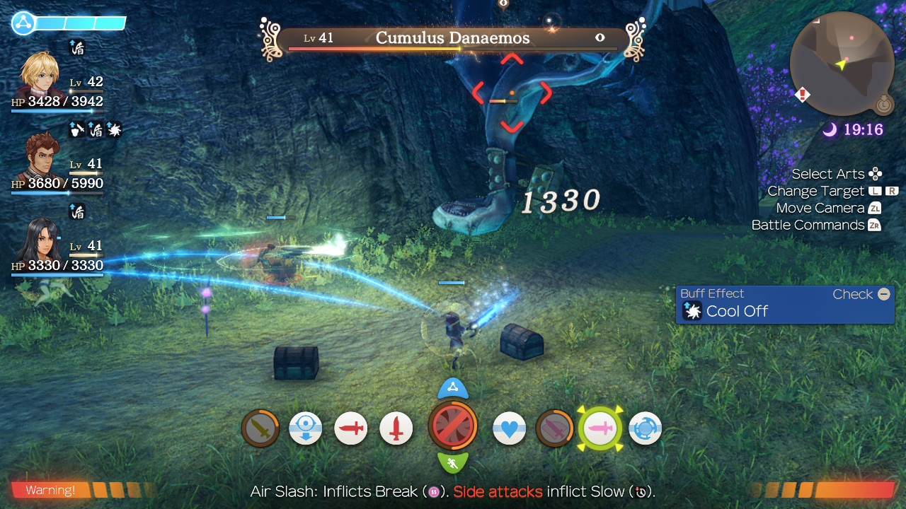 Xenoblade Chronicles Definitive Edition Combat