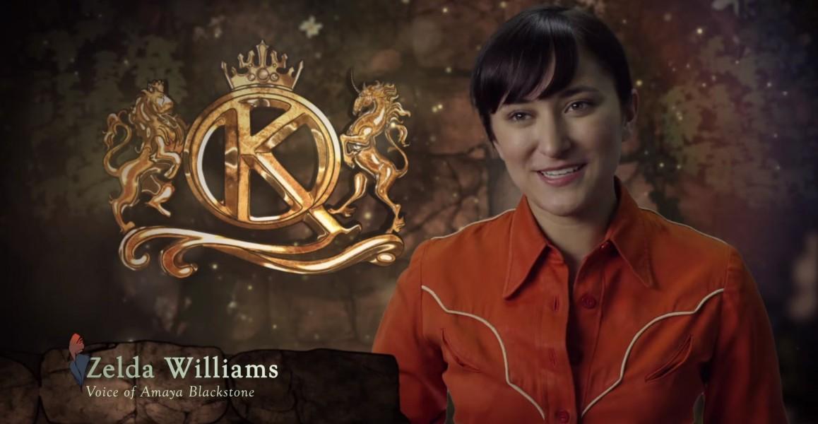 zelda williams king's quest