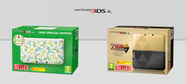 Two More Limited Edition 3DS XL Systems Coming To Europe